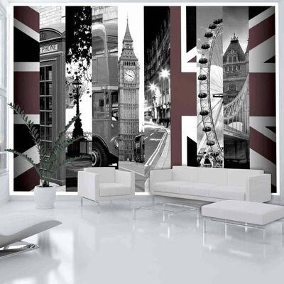 Fototapet - London Symbols - 300x210 Cm