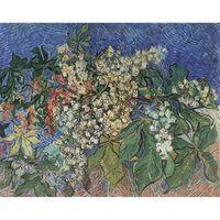 Blossoming Chestnut Branches,Vincent Van Gogh,60x50cm