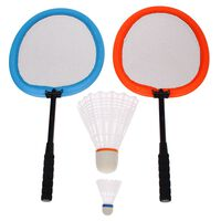 Get & Go Badmintonset XXL orange och blå