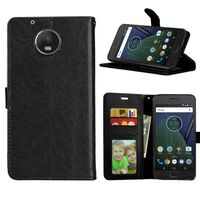 Mobilplånbok 3-kort Motorola Moto G5 (XT1670) Svart