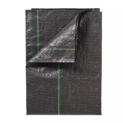 Nature Ogräsduk 1x25 m svart