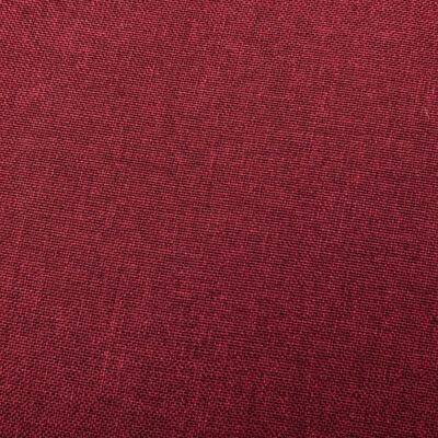 vidaXL Massagefåtölj vinröd tyg