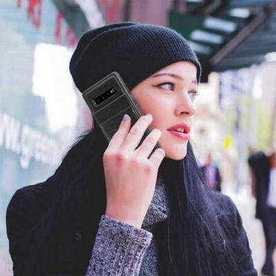 Samsung S10e Mobilskal Korthållare 4-fack Retro® V3