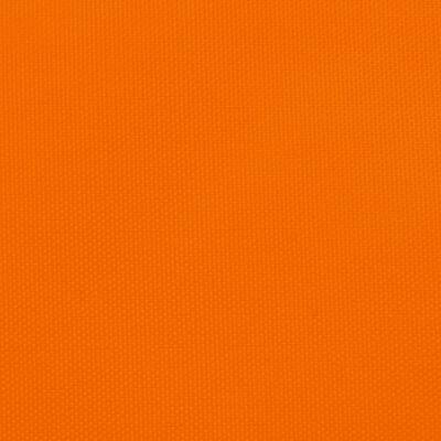 vidaXL Solsegel oxfordtyg trekantigt 5x6x6 m orange