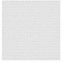 vidaXL Sträckmetall rostfritt stål 50x50 cm 30x17x2,5 mm