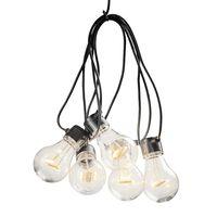 KONSTSMIDE Partylampor med 5 lampor extra varm