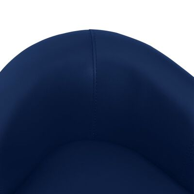 vidaXL Hundsoffa blå 67x41x39 cm konstläder