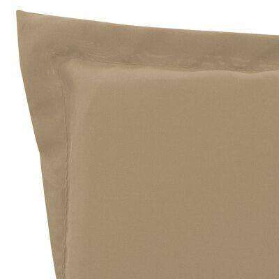 vidaXL Dyna för solstol beige 180x55x3 cm