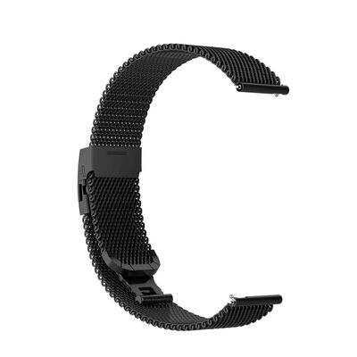 Garmin Vivoactive 3 / Move / Hr (20mm) Armband Rostfritt Stål Svart
