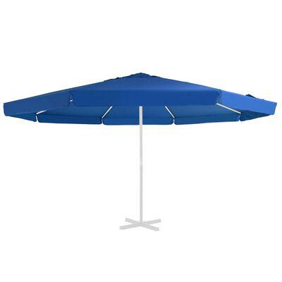 vidaXL Reservtyg för parasoll azurblå 500 cm