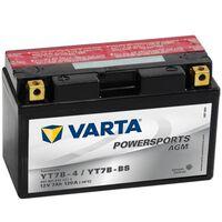 Varta AGM Batteri 12 V 7 Ah YT7B-4 / YT7B-BS