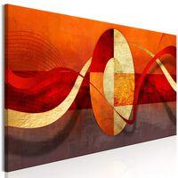 Tavla - Circle Of Life (1 Part) Narrow - 120x40 Cm