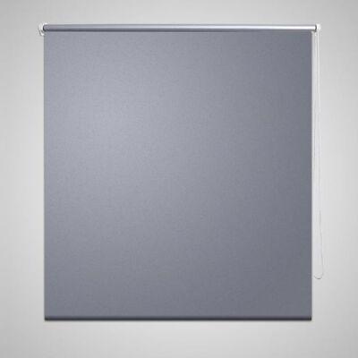 Rullgardin grå 120 x 175 cm mörkläggande