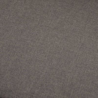 vidaXL 5-sitssoffa taupe tyg