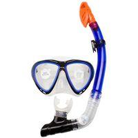 Waimea silikon dykmask med snorkel koboltblå 88DJ