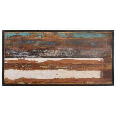 vidaXL Matbord 140 cm massivt återvunnet trä