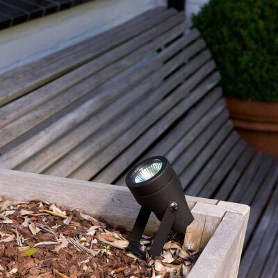 Luxform Trädgårdsstrålkastare Esperance 2 st 12 V svart 81205