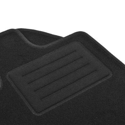 vidaXL Bilmattor set 4 delar för Audi A6