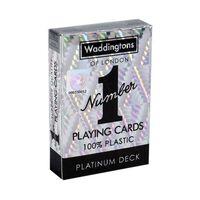 Waddingtons No. 1 PLATINUM - Klassiska Spelkort i Hög Kvalité