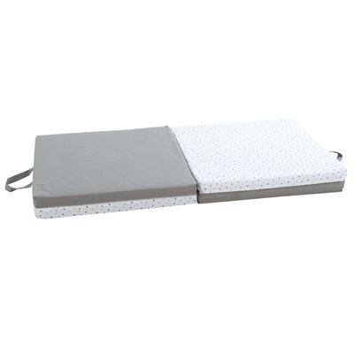 Candide 3-i-1 vikbar lekmatta grå och vit