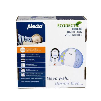 Alecto DECT Babyvakt DBX-85 EKO Vit och Blå, Blue