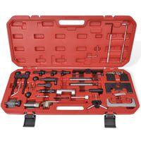 vidaXL Blockeringsverktyg för låsning av kamaxel/vevaxel diesel/bensin