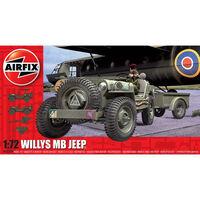 Airfix Willys Jeep, Trailer & 6PDR Gun 1:72