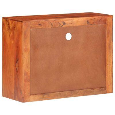 vidaXL Skänk 80x30x60 cm massivt akaciaträ,