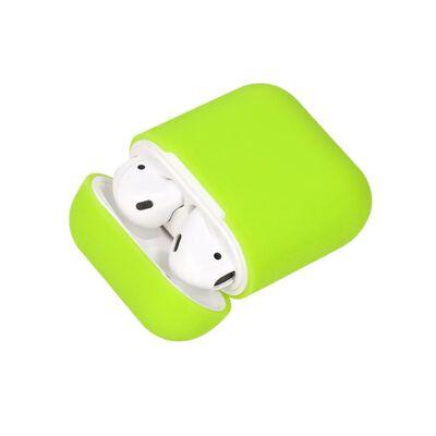 Silikonskal fodral för Apple Airpods / Airpods 2 - Grön