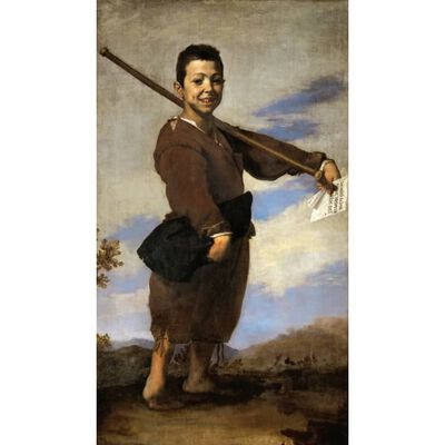 The Boy with the Clbfoot,Jusepe de Ribera,60x34cm