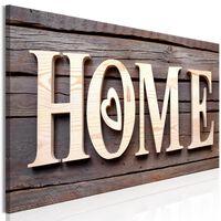 Tavla - Wooden Home (1 Part) Narrow - 150x50 Cm