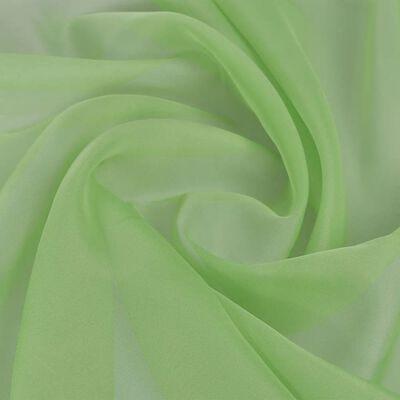 Voile tyg 1,45 x 20 m grön
