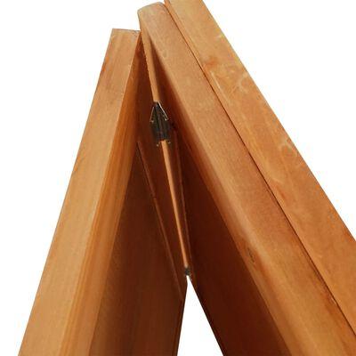 vidaXL Djurbur i trä för utomhusbruk