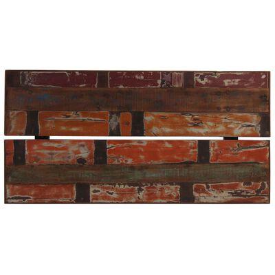 vidaXL Barmöbler 7 delar massivt återvunnet trä flerfärgad