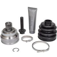 vidaXL Drivknut 7 delar hjulsidan för Audi