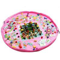 Förvaringspåse / Lekmatta för Leksaker - Rosa