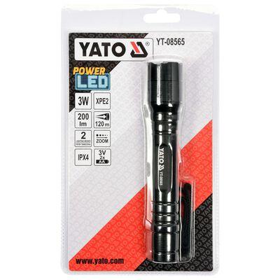 YATO Ficklampa Cree XPE2 3W