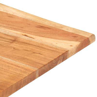 vidaXL Barbord med levande kanter 50x50x110 cm massivt akaciaträ