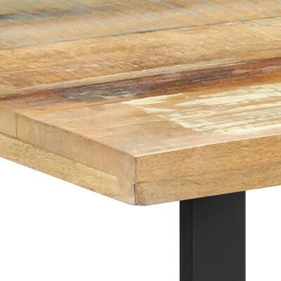 vidaXL Matbord 120x60x76 cm massivt återvunnet trä
