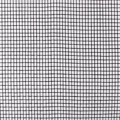 vidaXL Insektsnät glasfiberplast 150x500 cm svart