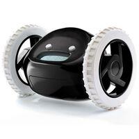 Clocky Väckarklocka på hjul svart