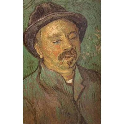 Portrait of a One-Eyed Man,Vincent Van Gogh,56x36.5cm