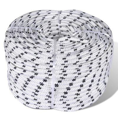 vidaXL Båtlina 8 mm x 50 m polyester