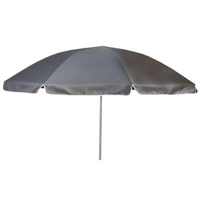 Bo-Camp Parasoll 200 cm grå