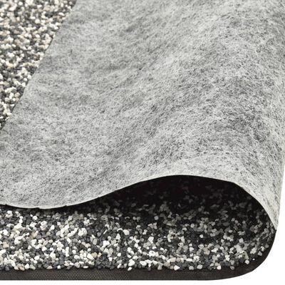 vidaXL Kantmatta grå 500x40 cm