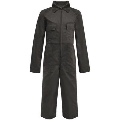 vidaXL Overall barn storlek 134/140 grå