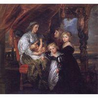 The Family of Sir Balthasar Gerbier,Peter Paul Rubens