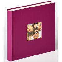 Walther Design Fotoalbum Fun 30x30 cm lila 100 sidor