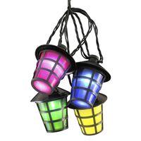 KONSTSMIDE Ljusslinga lyktor med 40 lampor flerfärgade