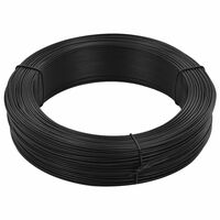 vidaXL Stagtråd 250 m 1,4/2 mm stål antracit